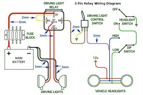 Tb 3568 5 Post Relay Wiring Diagram Headlights Wiring Diagram