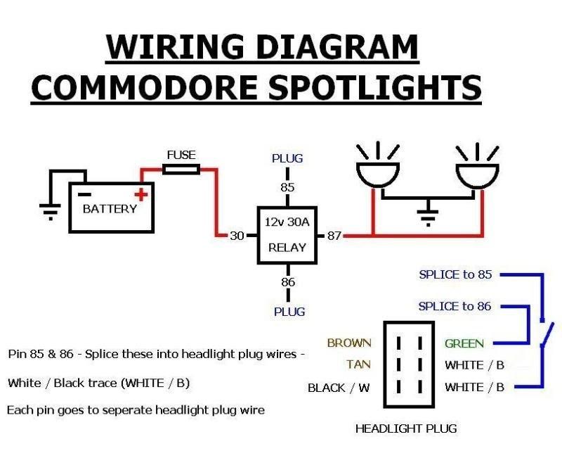 Spotlight Wiring Diagram 4 Pin Relay Wiring Diagram For 1991 Chevrolet Corvette Autostereo Yenpancane Jeanjaures37 Fr