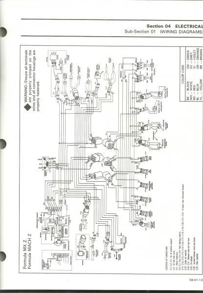 2004 Ski Doo Rev 800 Wiring Diagram