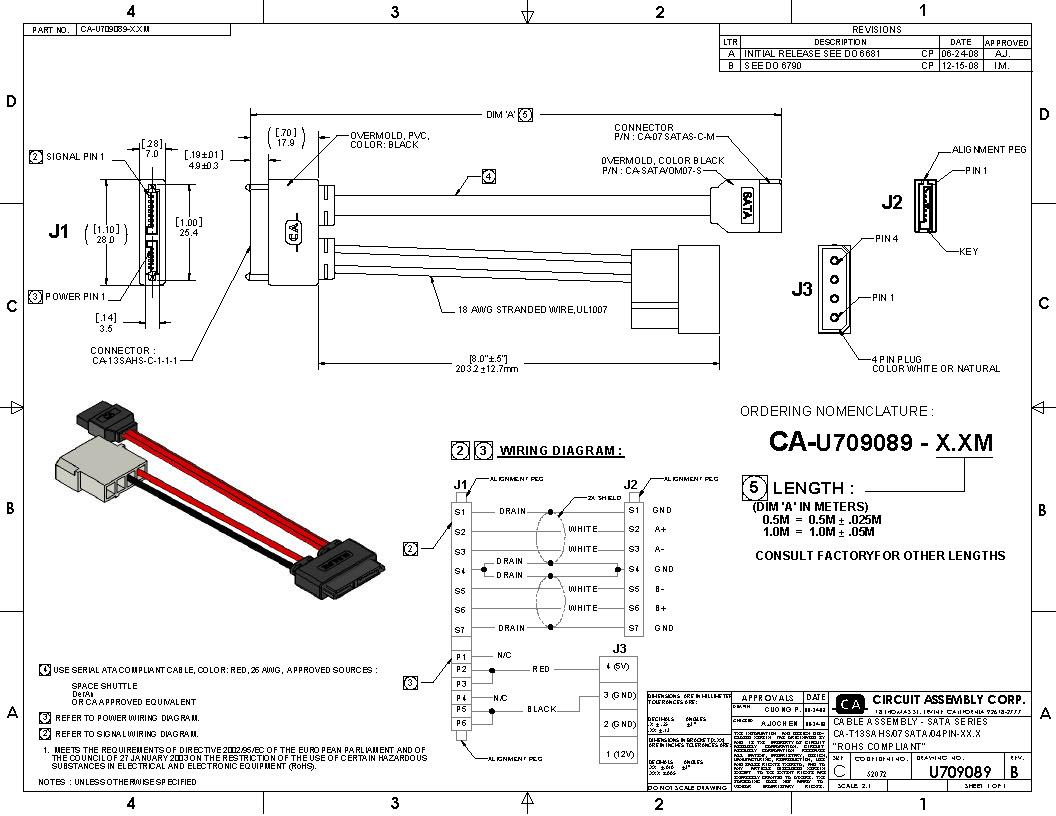 Sata Power Wiring Diagram - Get The Wiring Diagram HabitWiring Diagram Schematics