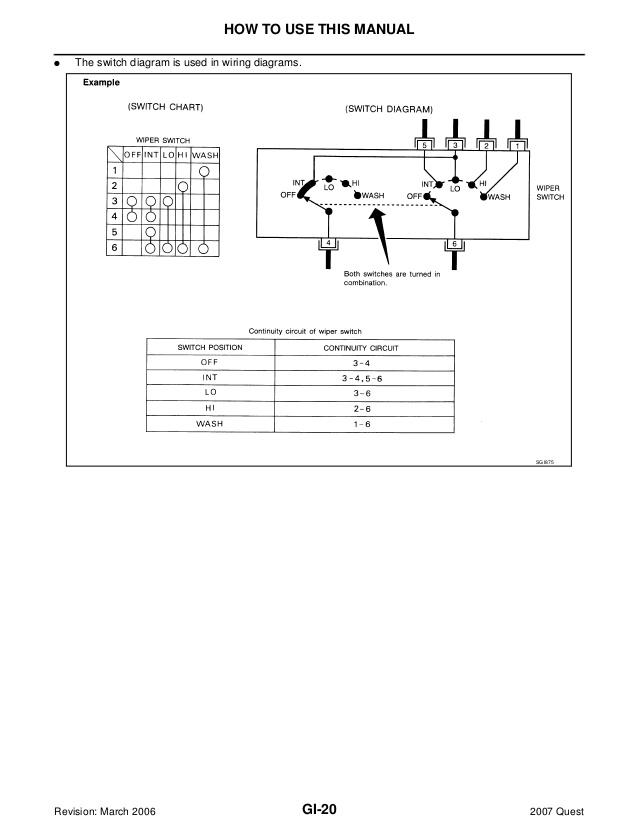 Zl 0328 2006 Nissan Quest Wiring Diagram Wiring Diagram