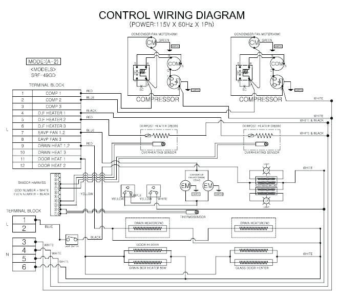 HR_9560] Brown Freezer Wiring Diagram Schematic Wiring | True 831932 Thermostat Wiring Diagrams |  | Cette Nnigh Timew Inrebe Mohammedshrine Librar Wiring 101