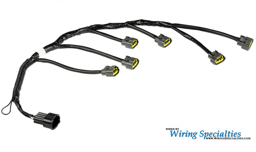 Magnificent Wiring Specialties Pro Series Coil Pack Harness For Nissan Rb20Det Wiring Cloud Itislusmarecoveryedborg