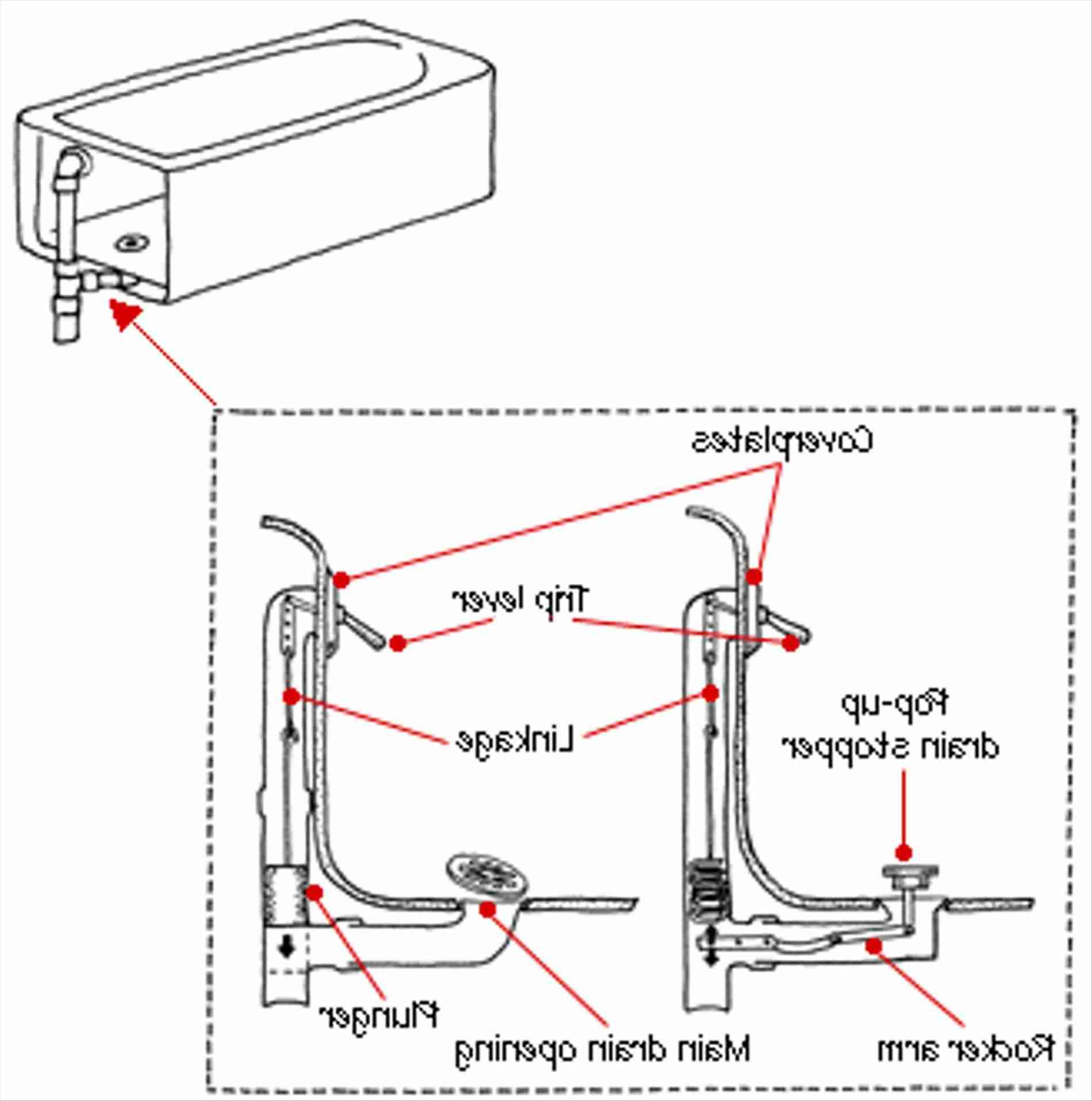 Fa 4510 Bathtub Plumbing Installation Drain Diagrams