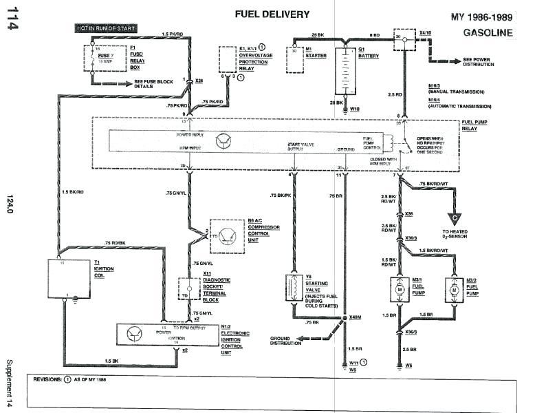 Mercedes W124 300e Wiring Diagram - Wiring Diagram