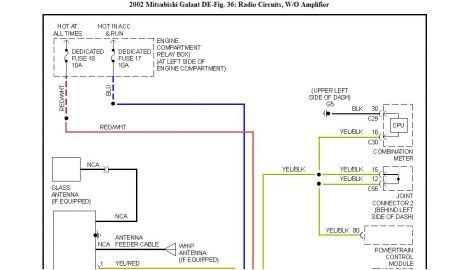 Mitsubishi Galant Radio Wiring Bege Wiring Diagram