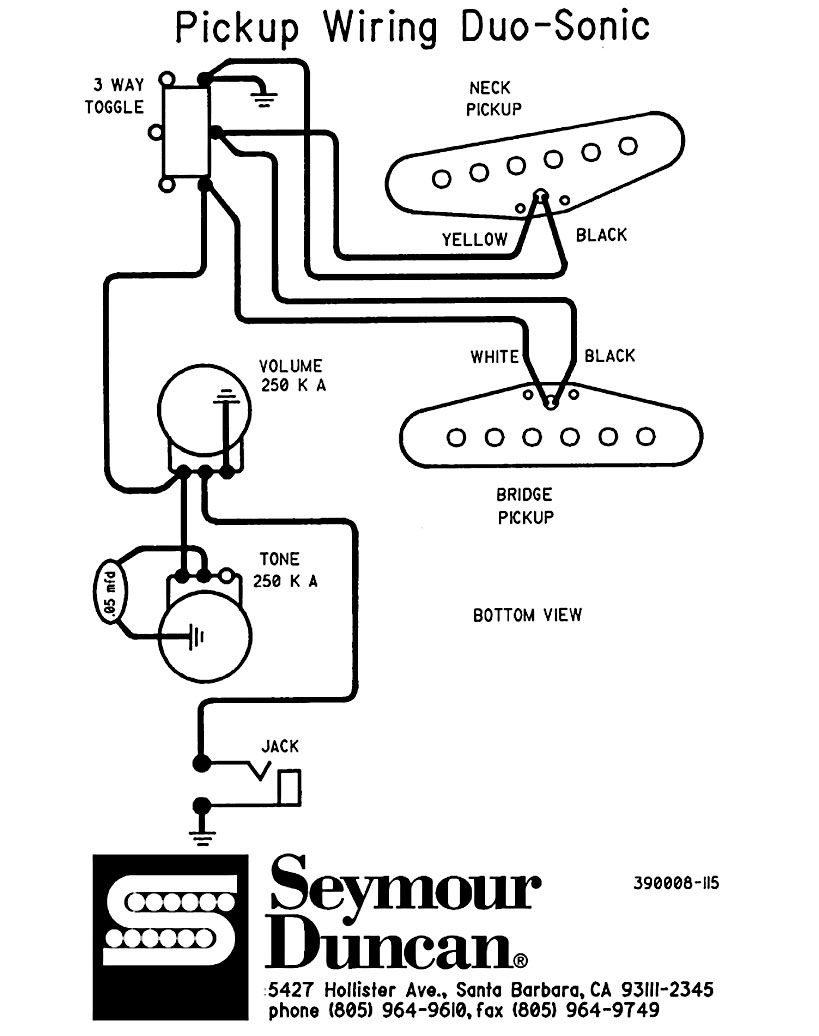 Fender Duo Sonic Wiring Diagram   40 Chevy A C Wiring Diagram ...