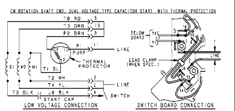 3 4 Hp Ao Smith Electric Motor Wiring Diagram