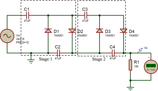 Surprising Cascade Voltage Multiplier Diagram Picswe Com Wiring Cloud Picalendutblikvittorg