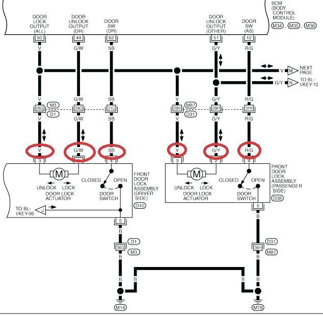 AF_0486] Central Locking Actuator Wiring Diagram Download Diagram