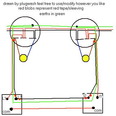 Marvelous Two Way Switch Wiring Diagram Two Lights Basic Electronics Wiring Wiring Cloud Dulfrecoveryedborg