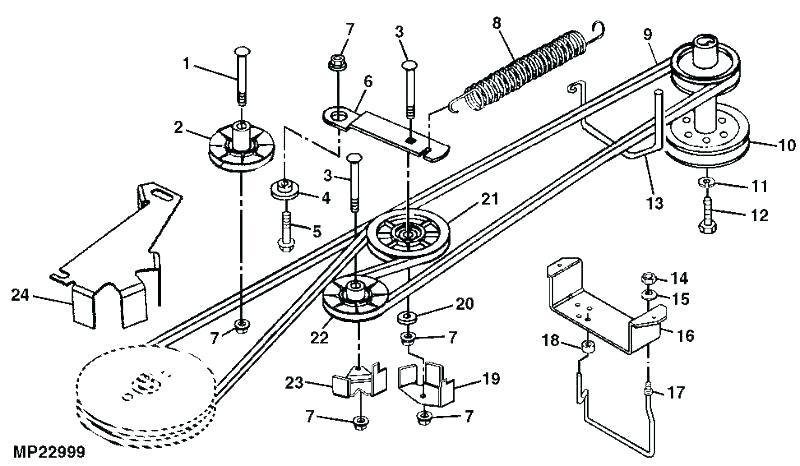 Wiring Diagram 33 Troy Bilt Bronco Deck Belt Diagram Manual Guide