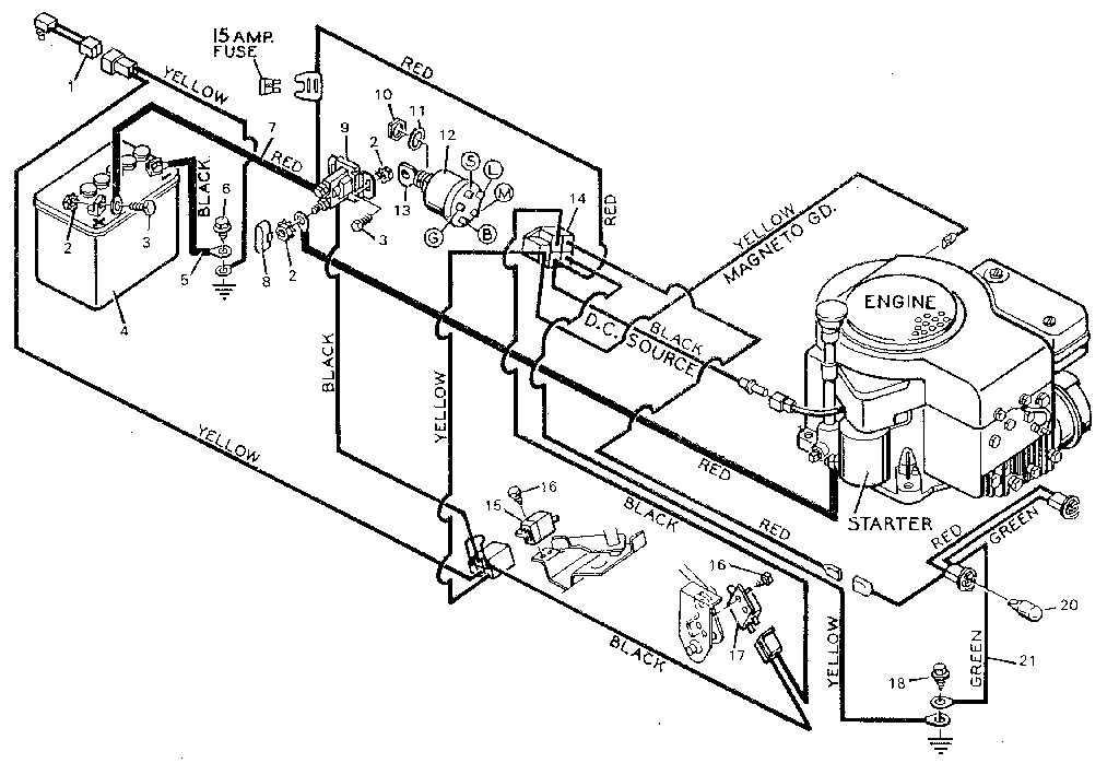 10 Hp Briggs Stratton Carburetor Diagram Wiring Schematic 1994 Jeep Wrangler Fuse Box Location Hazzard Kebilau Waystar Fr