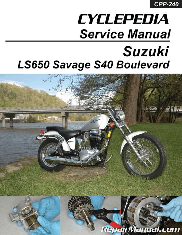 Excellent Suzuki Ls650 Savage Boulevard S40 Motorcycle Service Manual Wiring Cloud Itislusmarecoveryedborg