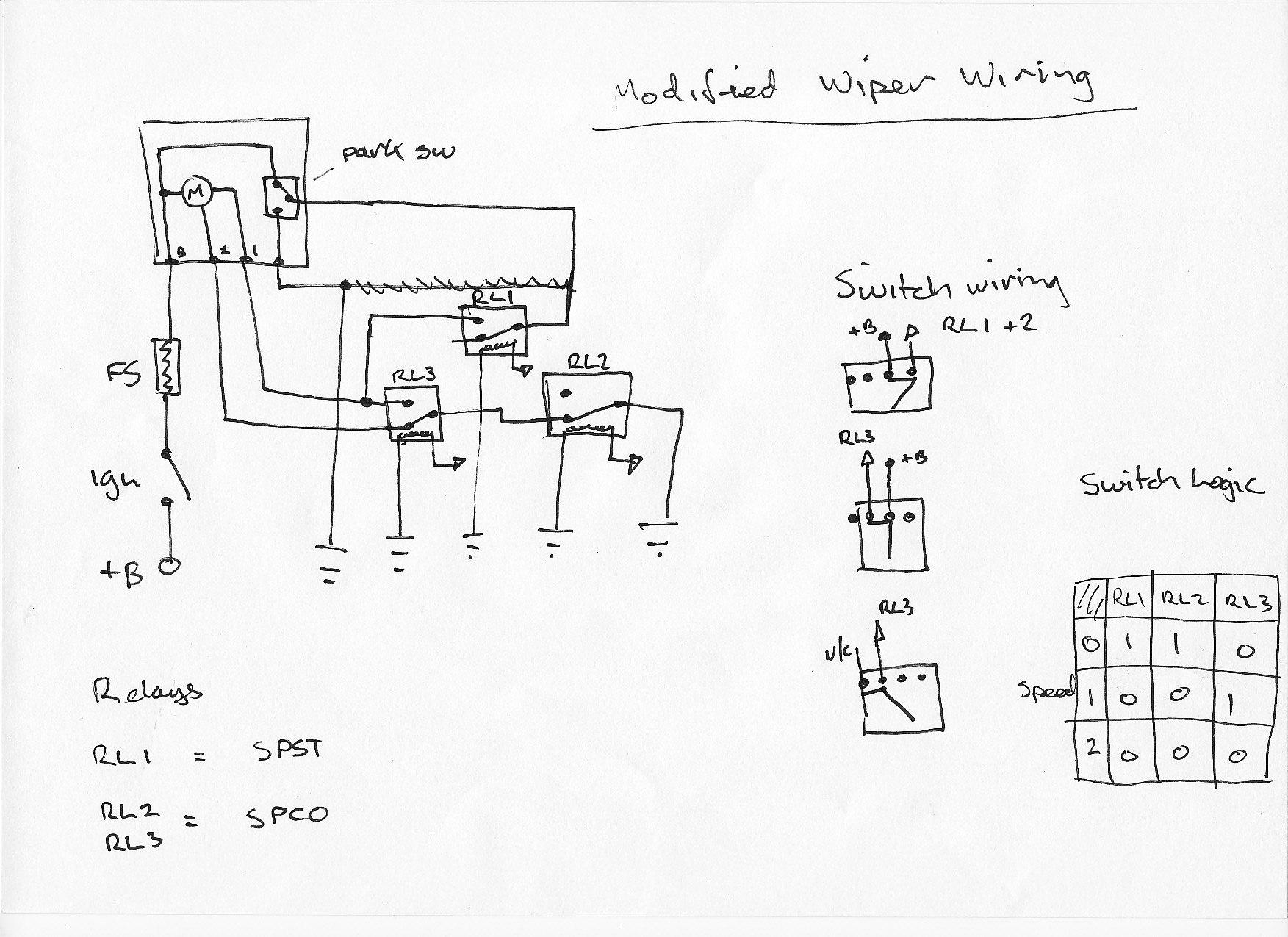 Ford Capri Wiper Motor Wiring Diagram