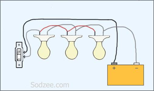 Amazing Wiring Light Bulbs In Series Circuit Diagram Template Wiring Cloud Orsalboapumohammedshrineorg