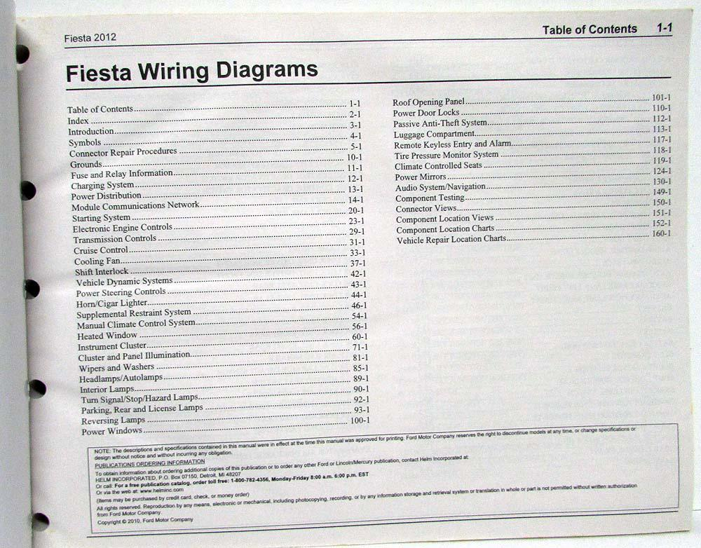 Fiesta St Audio Wiring Diagram
