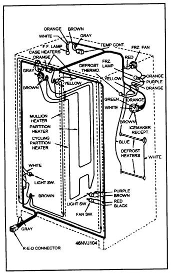 lv3499 refrigerator schematic diagram get free image about