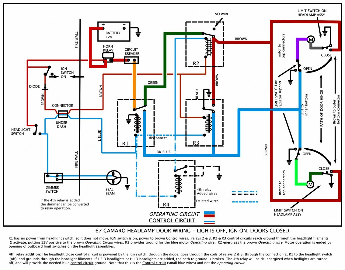 Wiring Diagram For 91 Camaro