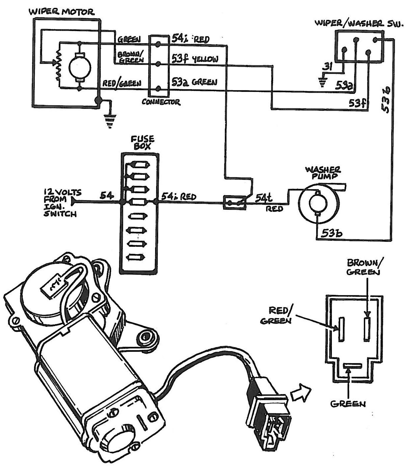 cj5 wiper motor wiring diagram tz 0981  lucas wiper motor wiring diagram free diagram  lucas wiper motor wiring diagram free