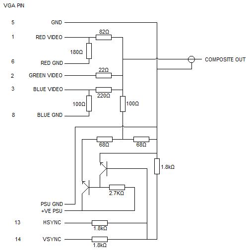 [SCHEMATICS_4LK]  LW_6986] Tv To Vga Schematic Wiring Diagram   Vga To Video Wiring Diagram      Ropye Unho Rect Mohammedshrine Librar Wiring 101