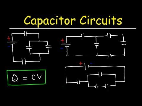 Miraculous How To Solve Any Circuit Problem With Capacitors In Series And Wiring Cloud Cranvenetmohammedshrineorg