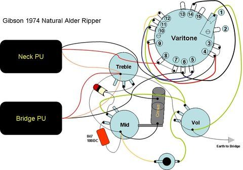Marvelous Wiring Diagram For 1974 Gibson Ripper Old Shape Alder Boody See Wiring Cloud Filiciilluminateatxorg