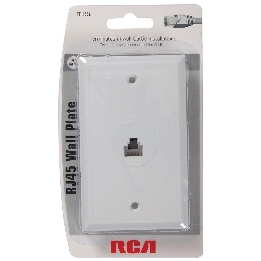 Zg 4173 Rca Rj45 Wall Plate Wiring Diagram Rj45 Wall Jack