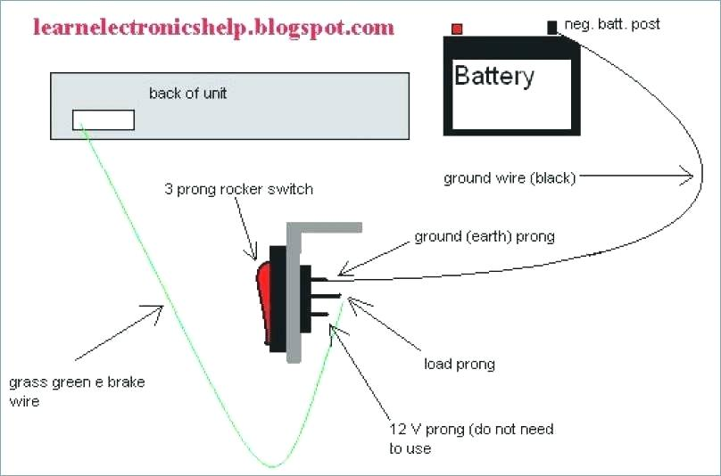 zr9118 wiring diagram on off switch and led rocker free