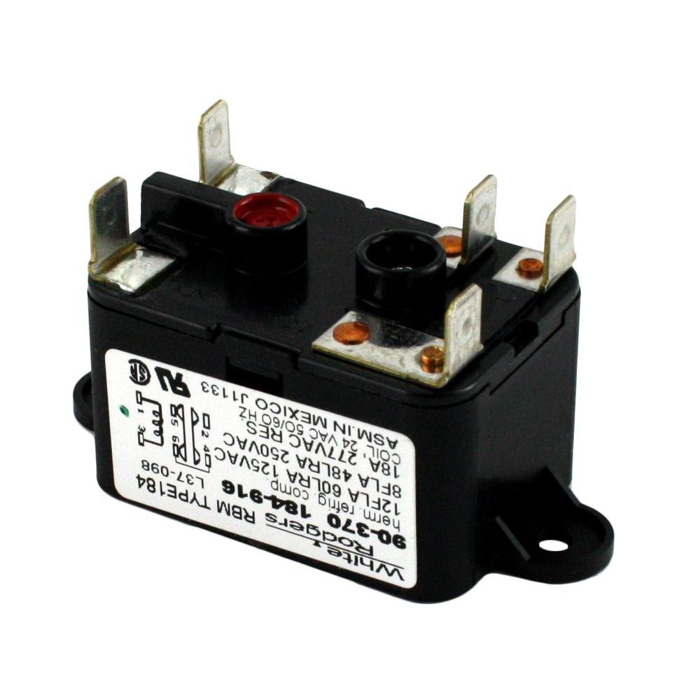 Fine White Rodgers 24 Volt Coil Voltage Spdt Rbm Type Relay 90 370 The Wiring Cloud Mousmenurrecoveryedborg