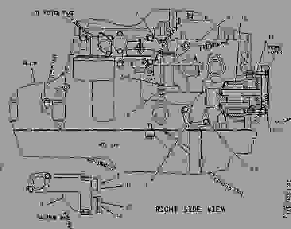 Hw 3560  3126 Caterpillar Engine Diagram On C15 Cat Block