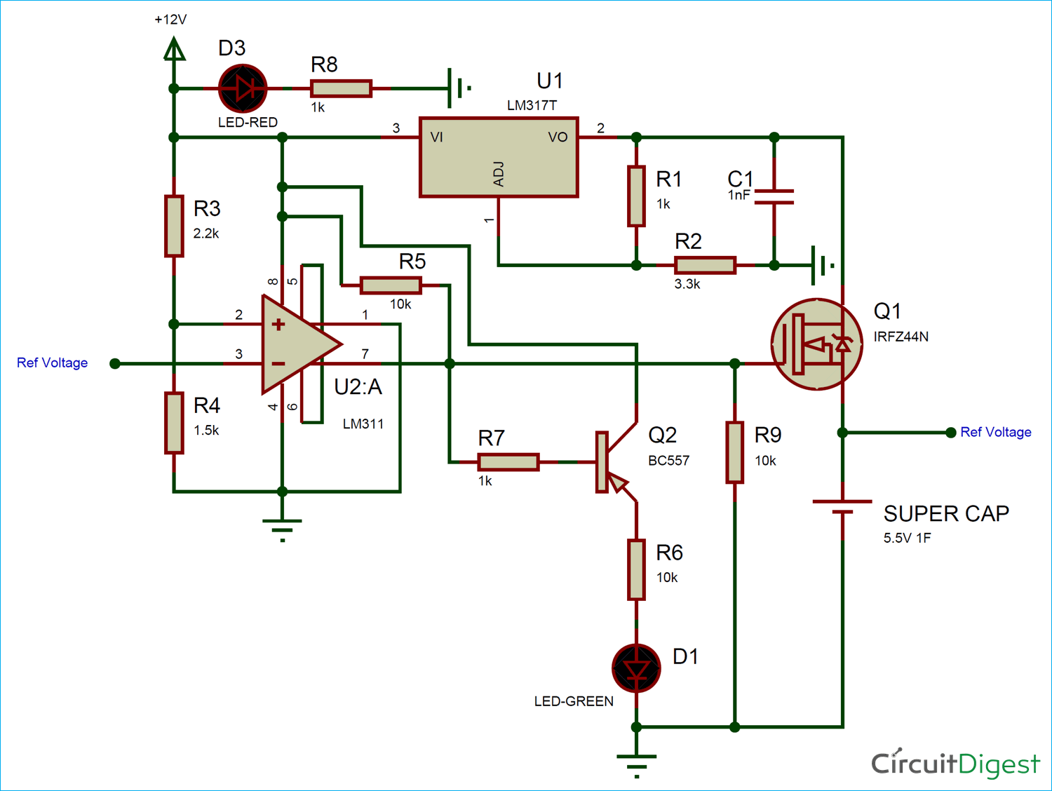 Tremendous How To Make A Supercapacitor Charger Circuit Wiring Cloud Rometaidewilluminateatxorg