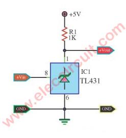 Superb Voltage Detector Circuit Using Tl431 Eleccircuit Com Wiring Cloud Picalendutblikvittorg