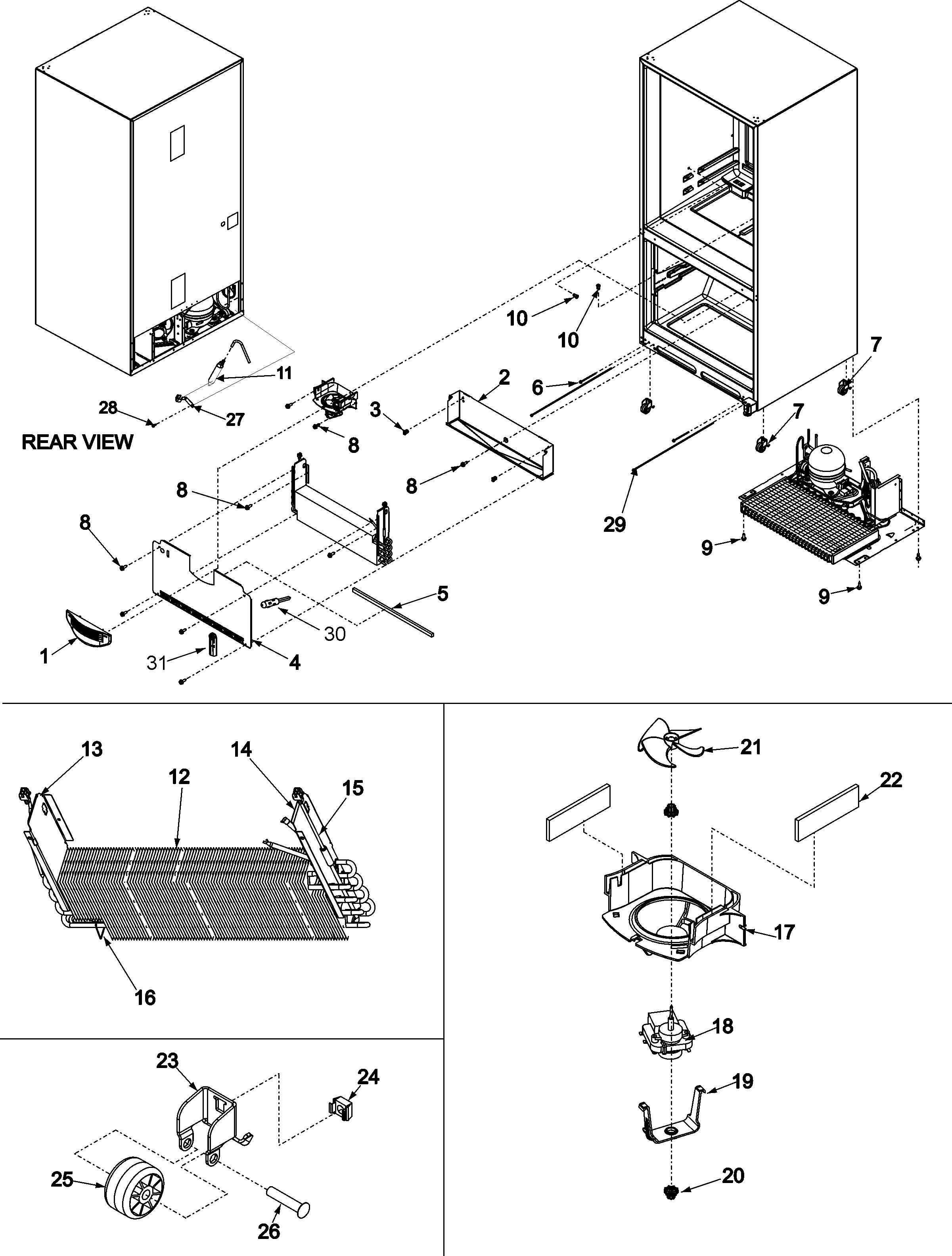 Fine Maytag Model Mfd2561Hew Bottom Mount Refrigerator Genuine Parts Wiring Cloud Animomajobocepmohammedshrineorg