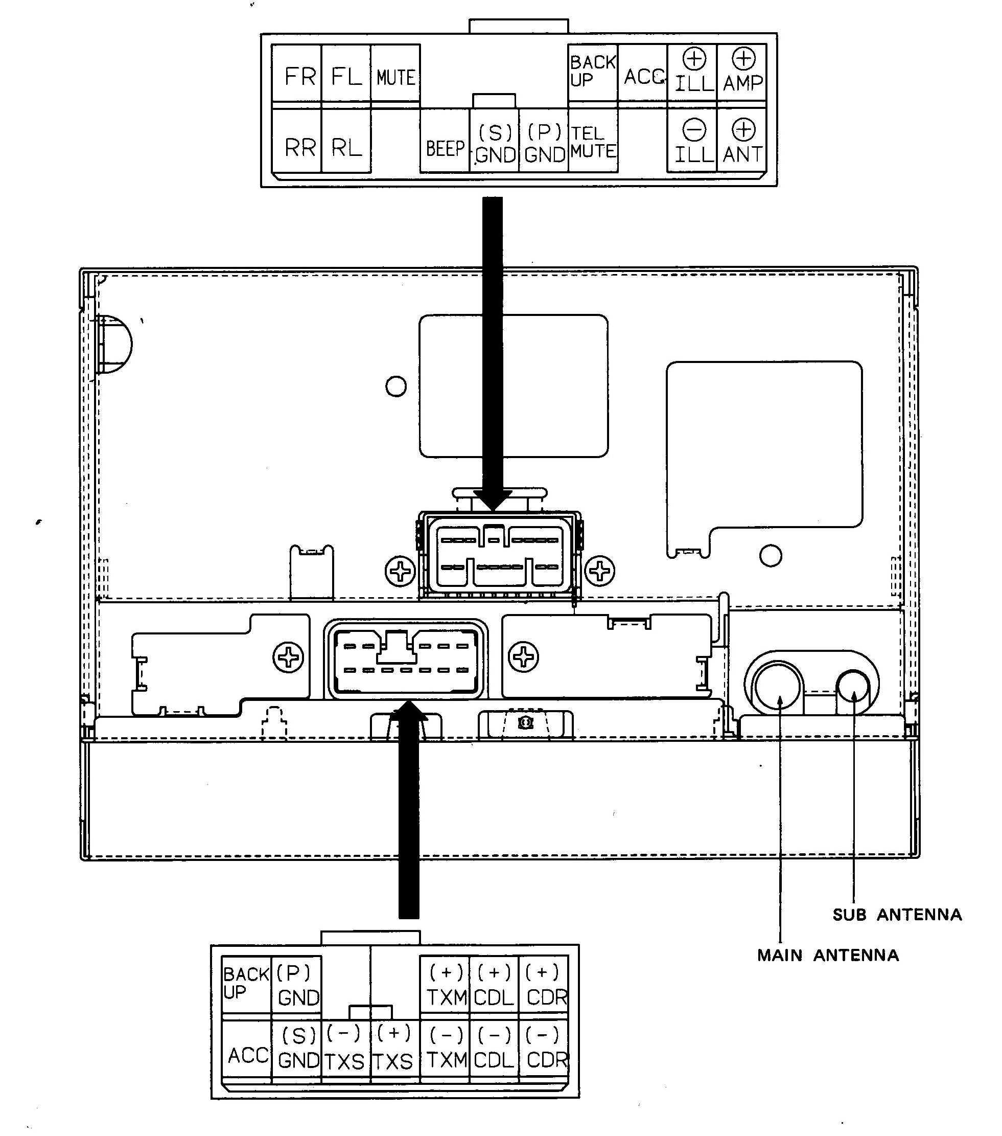 2000 Lexus Es300 Radio Wiring Diagram