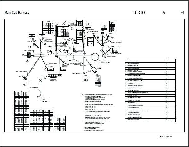 Mack Cab Wiring Diagram Wiring Diagrams Schematics