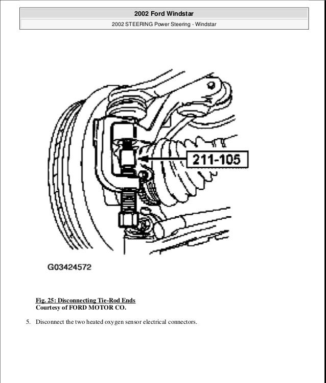 Fn 6910 Ford Windstar Oxygen Sensor Location Free Diagram