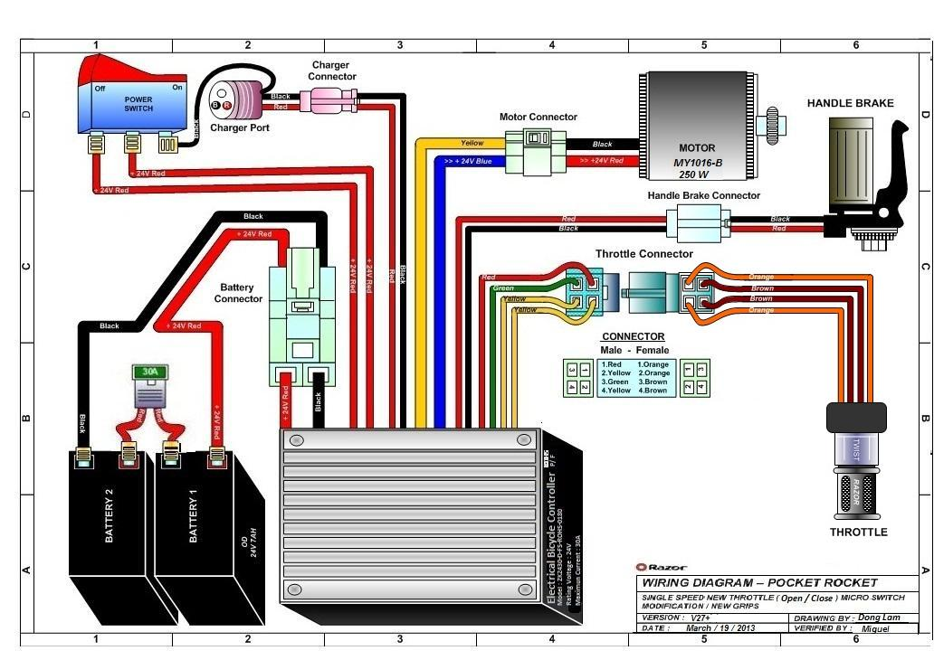 basic scooter wiring diagram 2004 chevy colorado blower