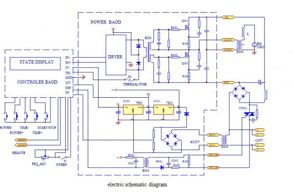 welding generator schematic diagram ey 0325  ultrasonic generator schematic ultrasonic technical term  ey 0325  ultrasonic generator schematic