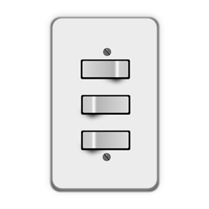 Terrific Light Switch 3 Switches One Off Clipart Cliparts Of Light Switch Wiring Cloud Uslyletkolfr09Org