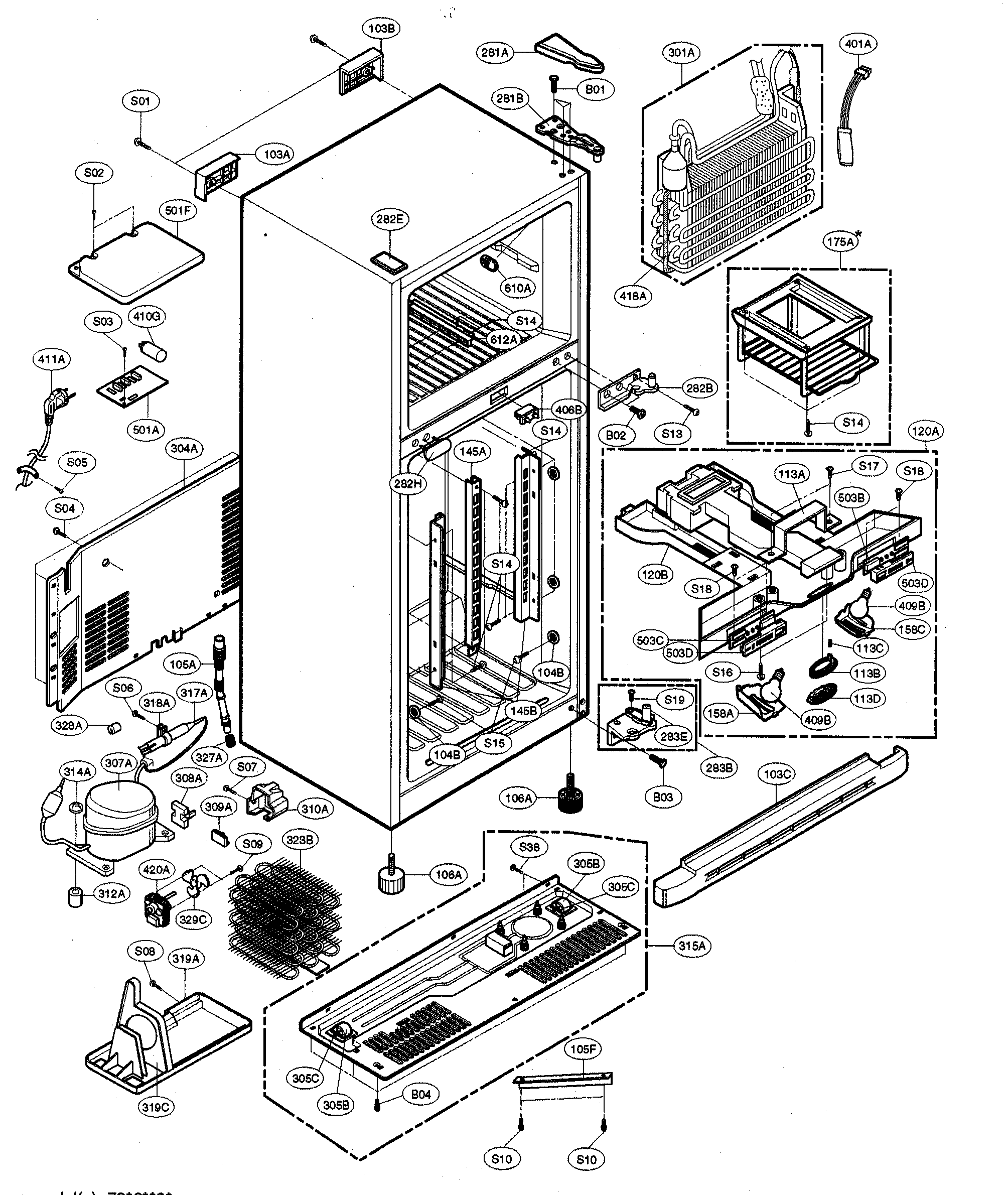 BE_0485] Refrigerator Parts Diagram On Kenmore 795 Refrigerator Parts  Diagram Free DiagramPical Joami Kargi Peted Tivexi Lious Inrebe Mohammedshrine Librar Wiring 101