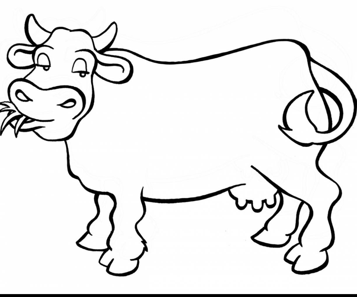 Cow And Calf Coloring Pages - GetColoringPages.com | 1019x1224