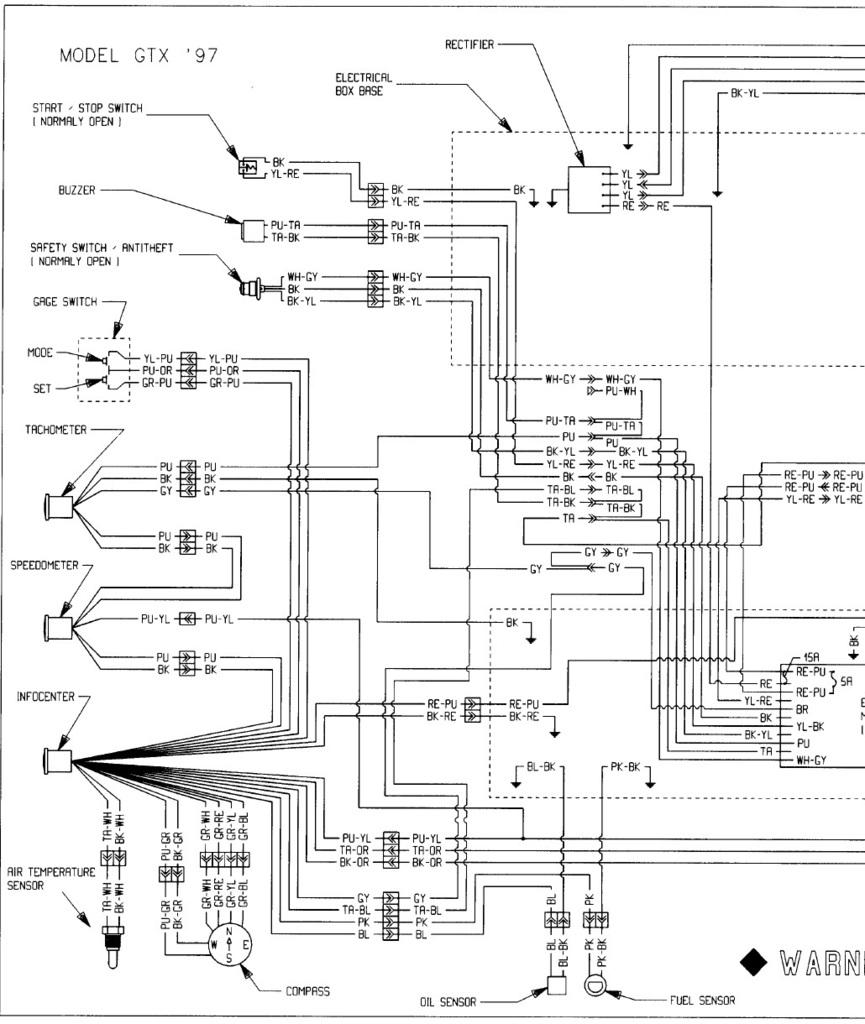 Incredible 93 Sea Doo Wiring Diagram Wiring Diagram M6 Wiring Cloud Vieworaidewilluminateatxorg