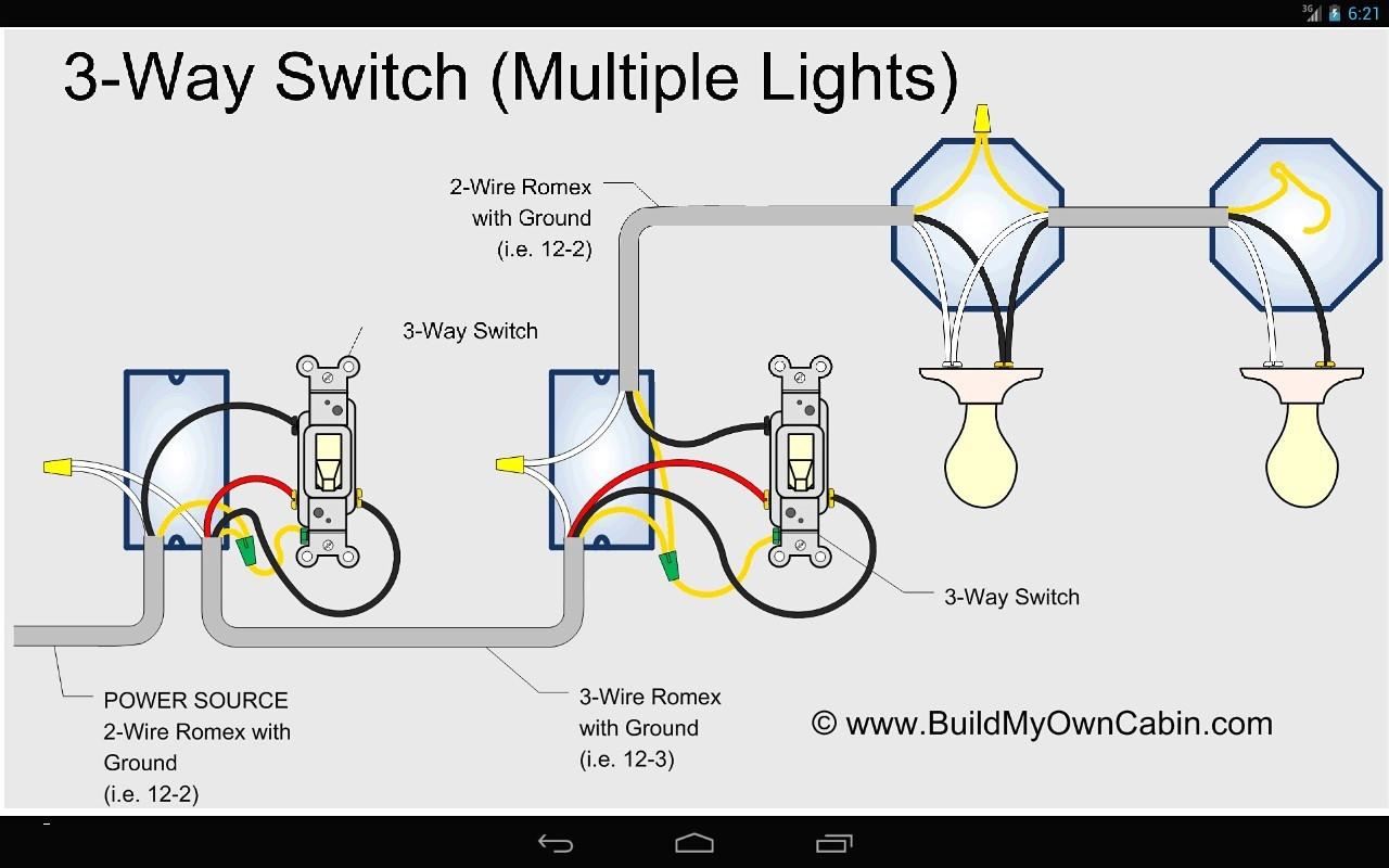 4 Way Switch Wiring Diagram Multiple Lights Uk