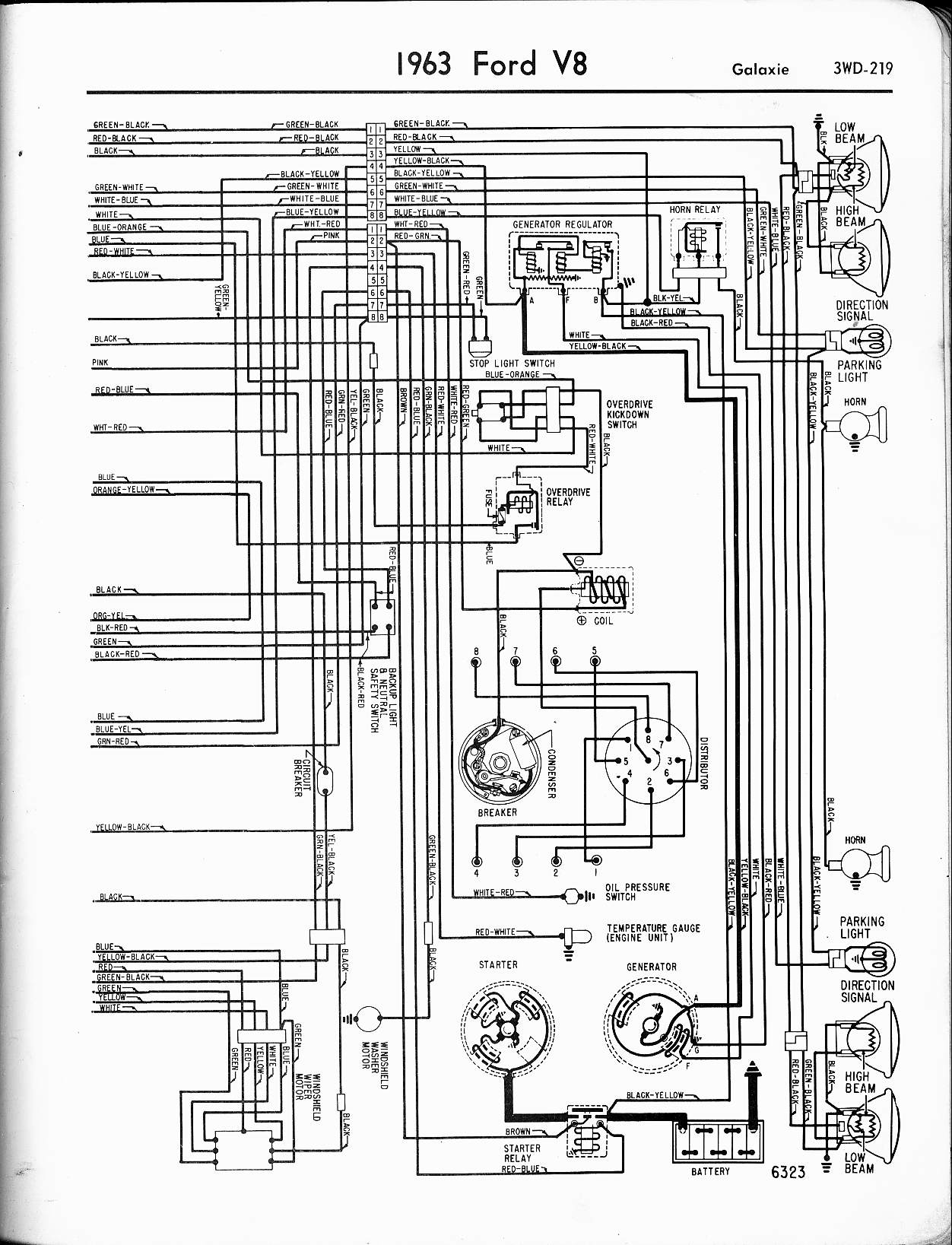 1965 ford wiring schematic 1965 ford galaxie wiring diagram schematic wiring diagram schematics  1965 ford galaxie wiring diagram