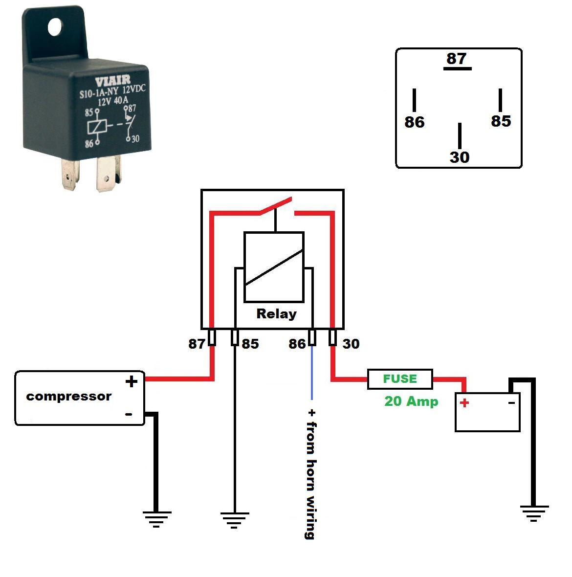 Relay Wiring Diagram For Air Horns - Toyota 3vze Injector Wire Diagram -  peugeotjetforce.yenpancane.jeanjaures37.fr | Volvo Truck Air Horn Wiring Diagram |  | Wiring Diagram Resource
