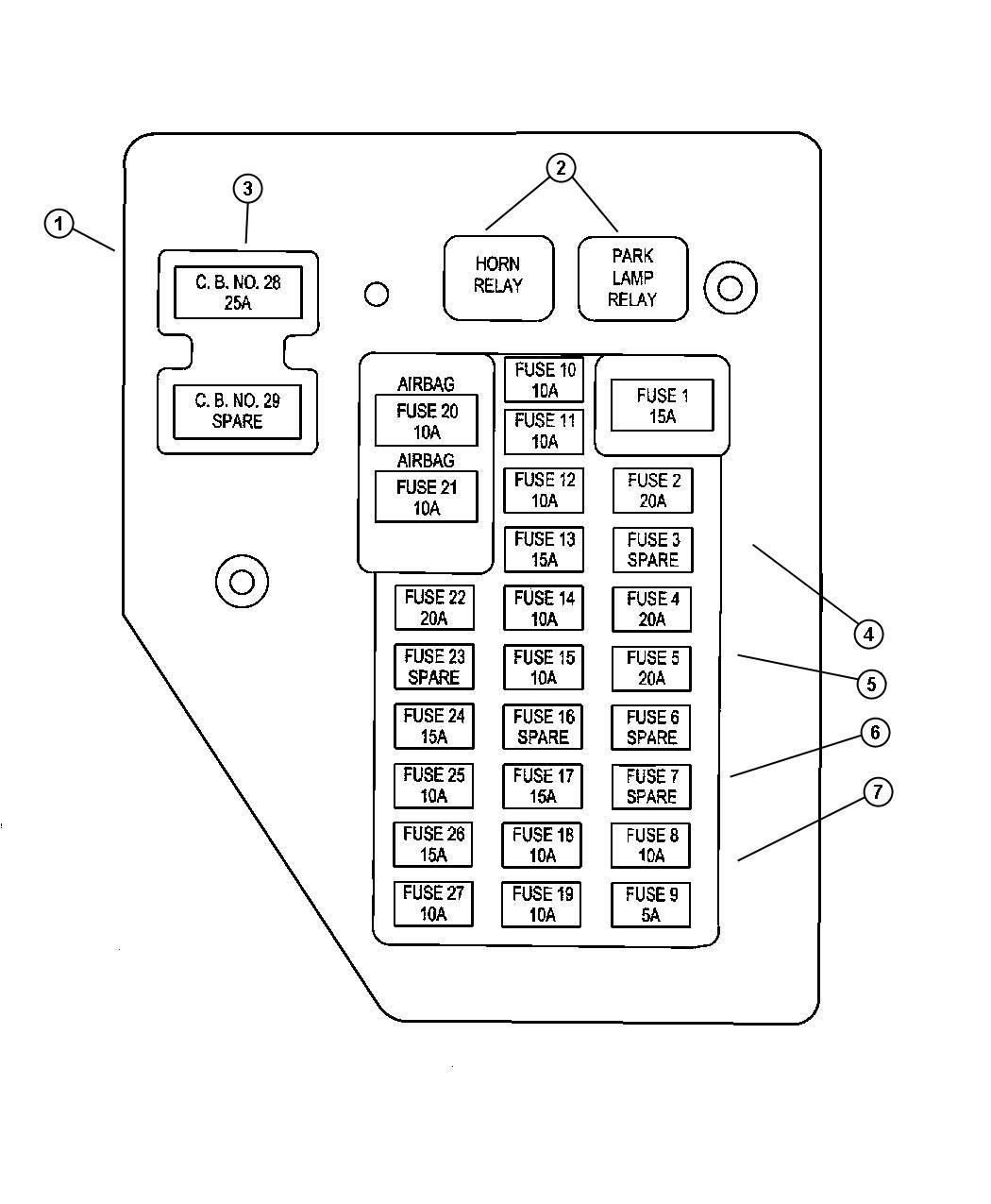 Enjoyable 95 Dodge Dakota Fuse Diagram Basic Electronics Wiring Diagram Wiring Cloud Ostrrenstrafr09Org