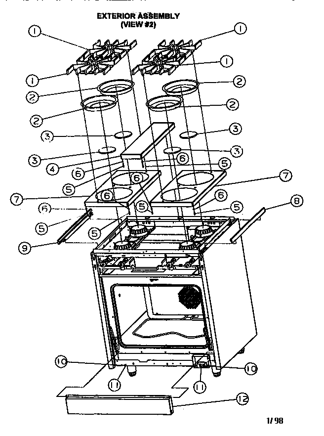EL_8649] Viking Oven Wiring Diagram Download Diagram