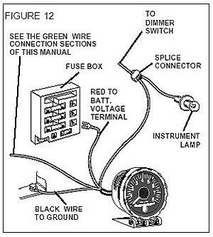 YC_5906] Vintage Sun Tachometer Wiring Schematic Wiring DiagramKnie Ophag Apan Kicep Mohammedshrine Librar Wiring 101