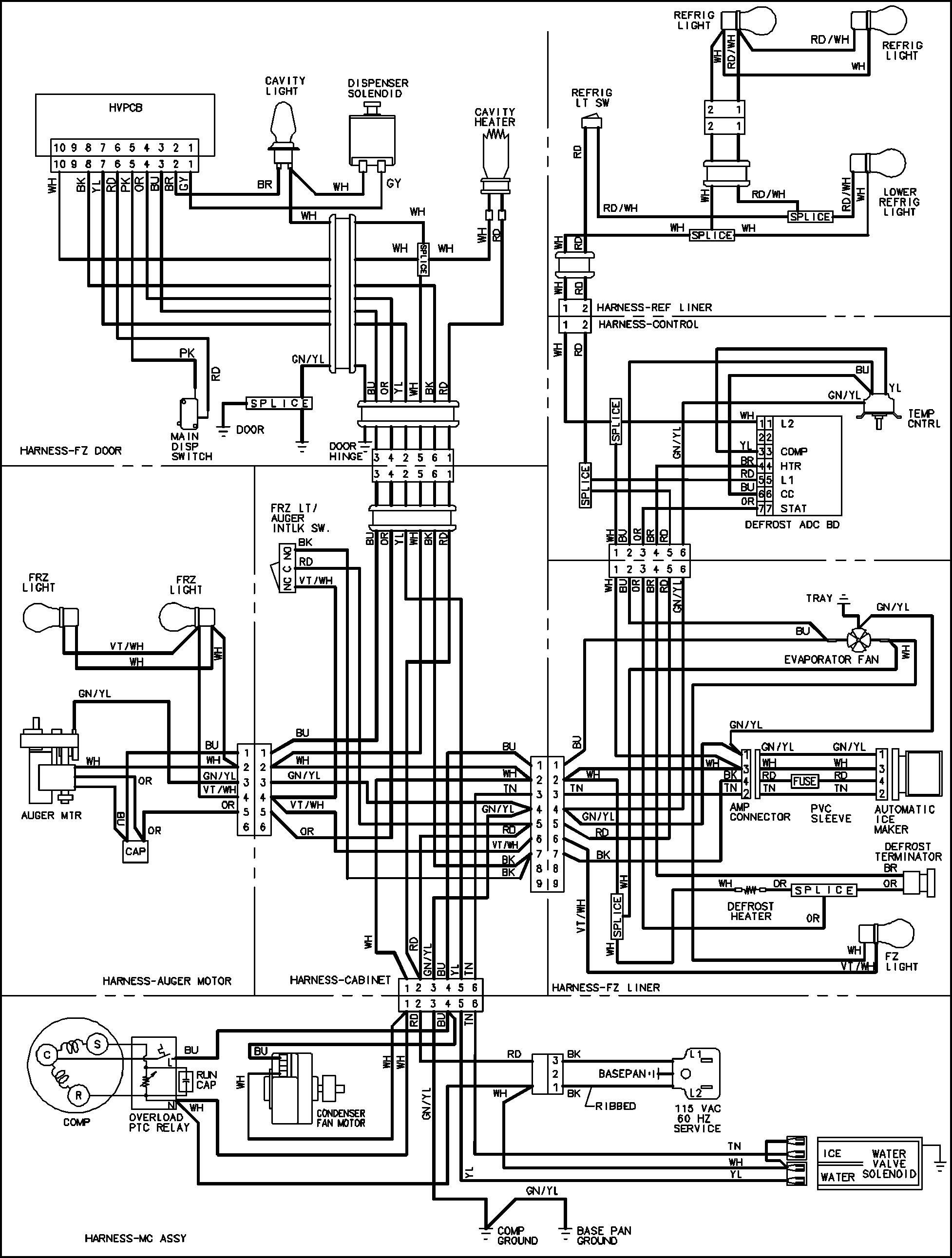 ST_5006] Vintage Refrigerator Wiring Diagram Free DiagramEffl Peted Romet Tacle Xolia Mohammedshrine Librar Wiring 101
